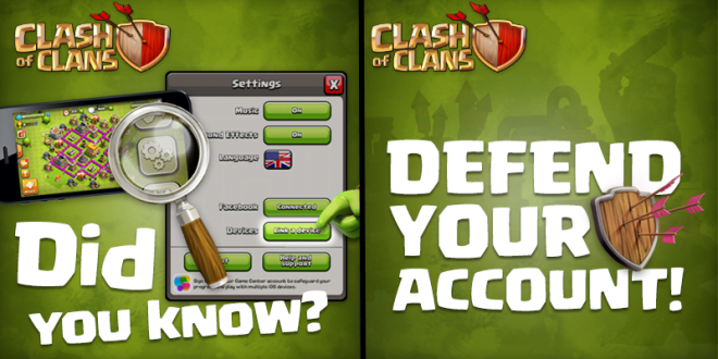how to delete clash of clans account ios